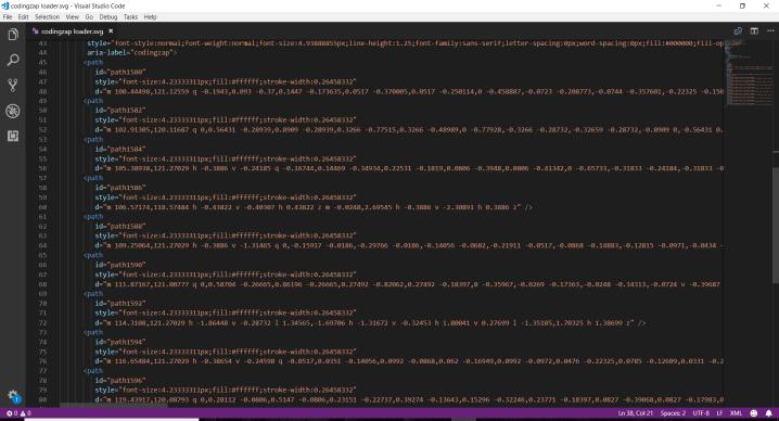 Loading Screen HTML