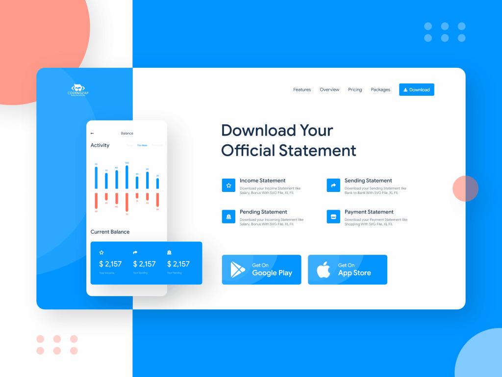 ZAPAY payment wallet UI UX design concept