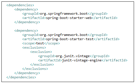 pom.xml for Spring boot MVC