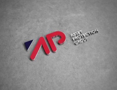 apg logo on wall