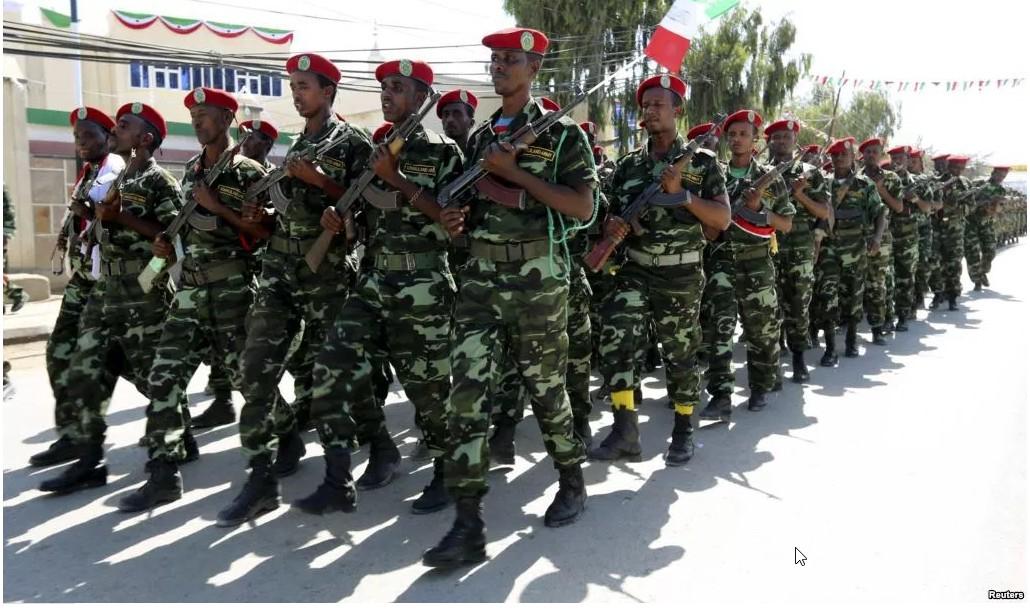 Qaybinta Darajada Ciidanka Qaranka Somaliland Ee Sannadkan Oo Indhaha Lagu Hayo - Codka Somaliland