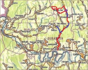 Zona Carmazanesti - Boiu de Sus, Muntii Metaliferi