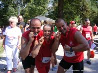 Viktor Biró, Emese Katalin Bíró, Molnar Huba, locul 2 la echipe in cursa de 10 km