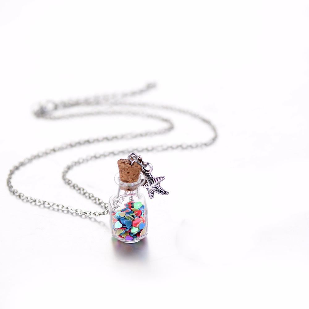 Drifting Bottle Pendant Necklace Pakistan
