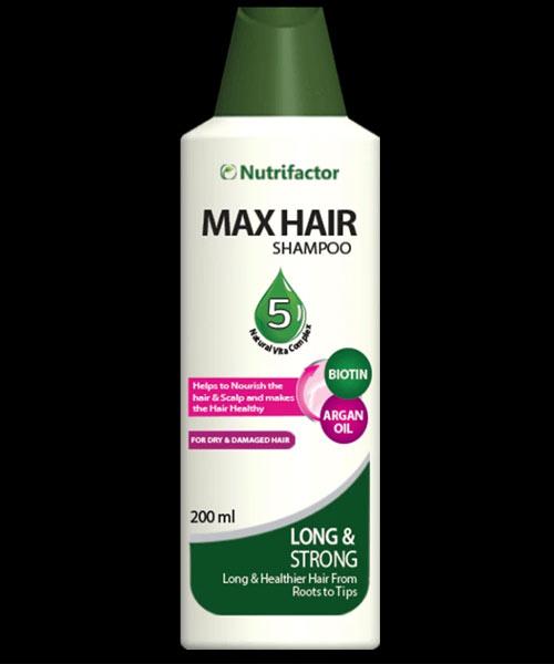Nutrifactor Max Hair Shampoo Pakistan