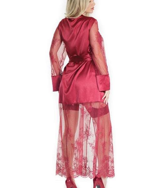 Sexy Bridal Satin Lace Robe Price Pakistan