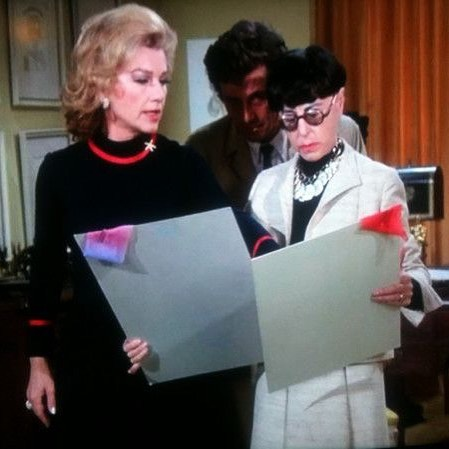 Edith Head on Columbo! Gowns by Edith Head