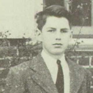 Robert Creeley, Holderness School (New Hampshire), 1941