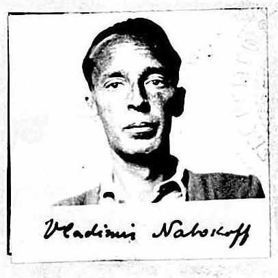 Nabokov, citizenship application, 1940