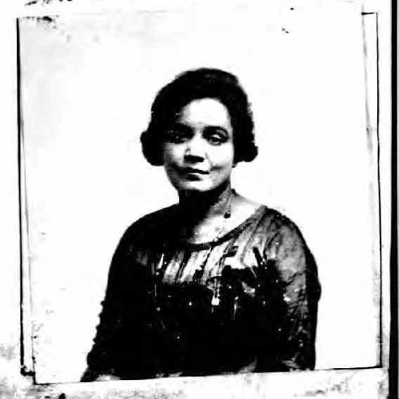 Jessie Fauset, passport, 1921