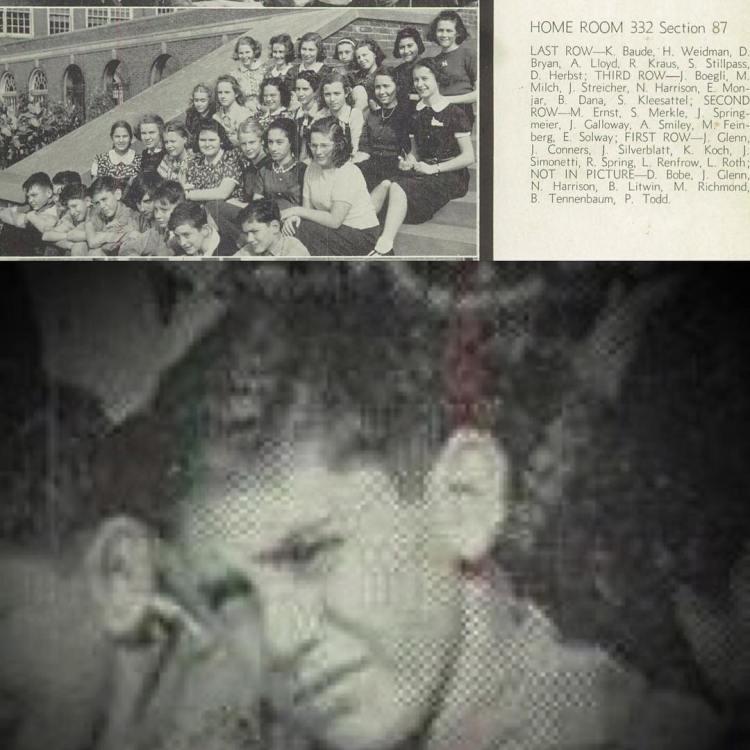 Happy Birthday Kenneth Koch, Walnut Hills High (Cincinnati), 1941