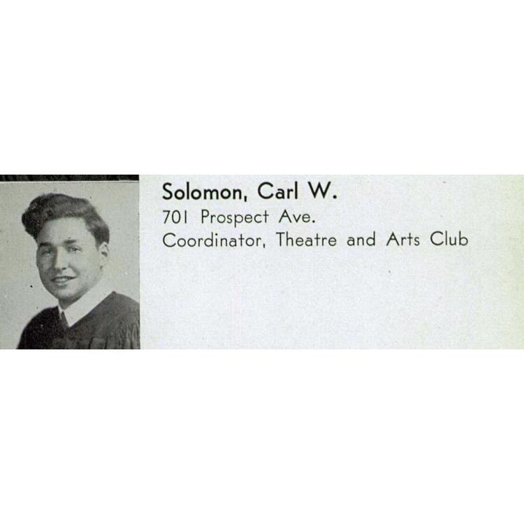 Happy birthday, Allen! Love, Carl