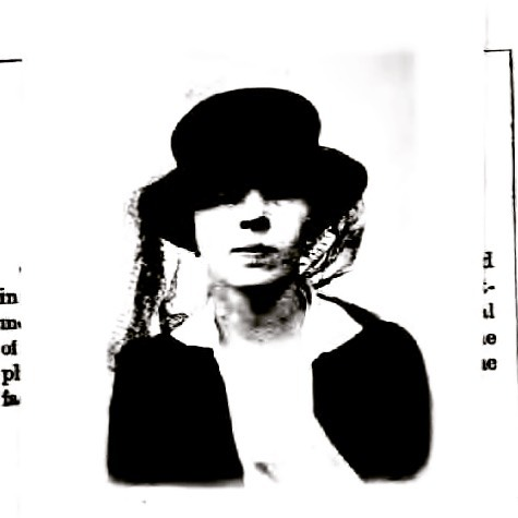 Can you imagine getting to wear a wild ass hat for your passport photo? Happy birthday Djuna Barnes! (Photo 1921)