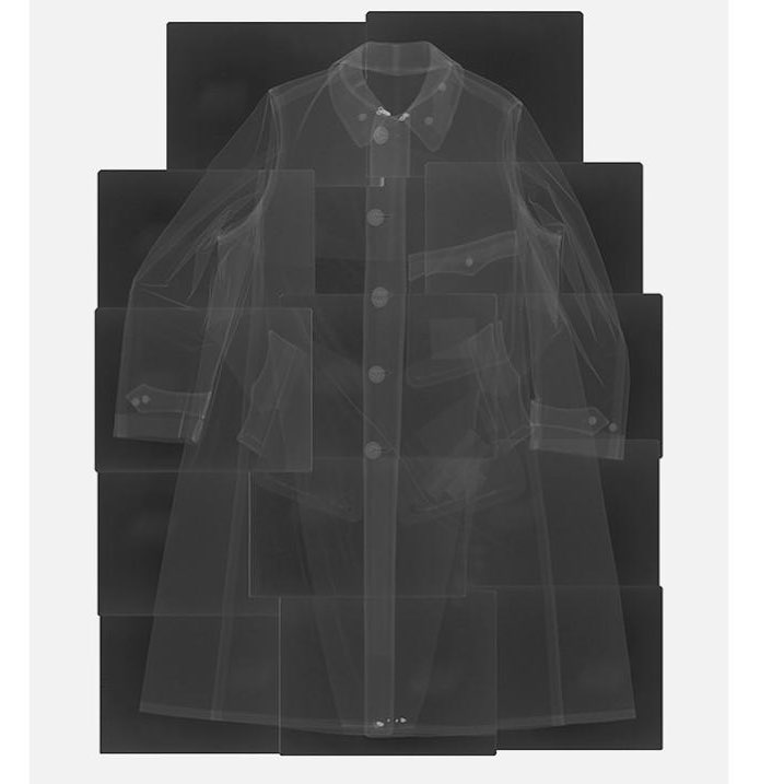 Freud's coat, x-ray by Paul Coldwell