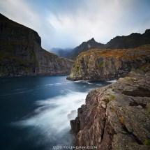 Lofoten Islands Autumn And Winter Coastal Landscape