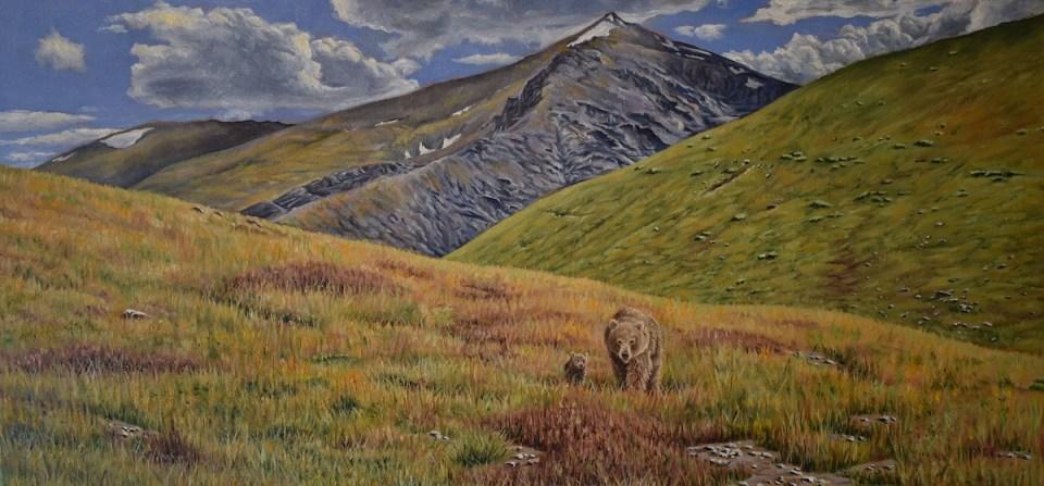 Hoosier Pass circa 1840