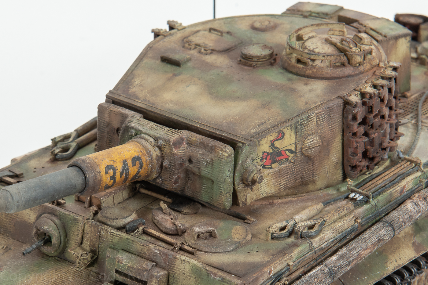 Final reveal: Ryefield Model 1/35 Tiger I Late Production: s Pz  abt