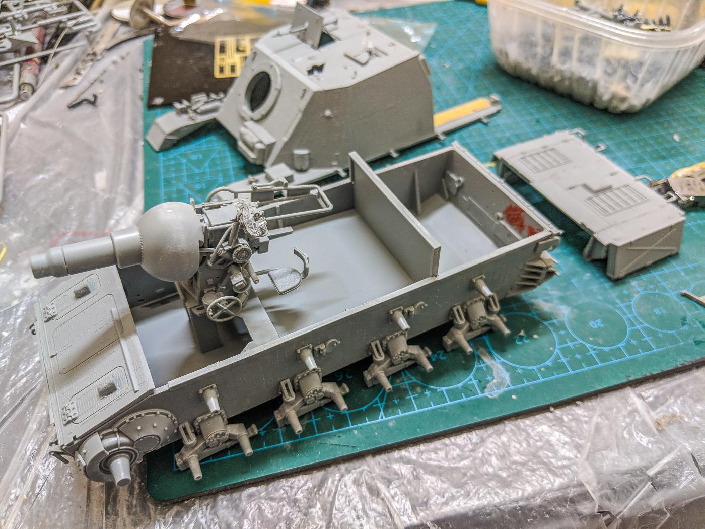 STURMPANZER AUSF.I 6819 DRAGON 1:35 Plastic kit