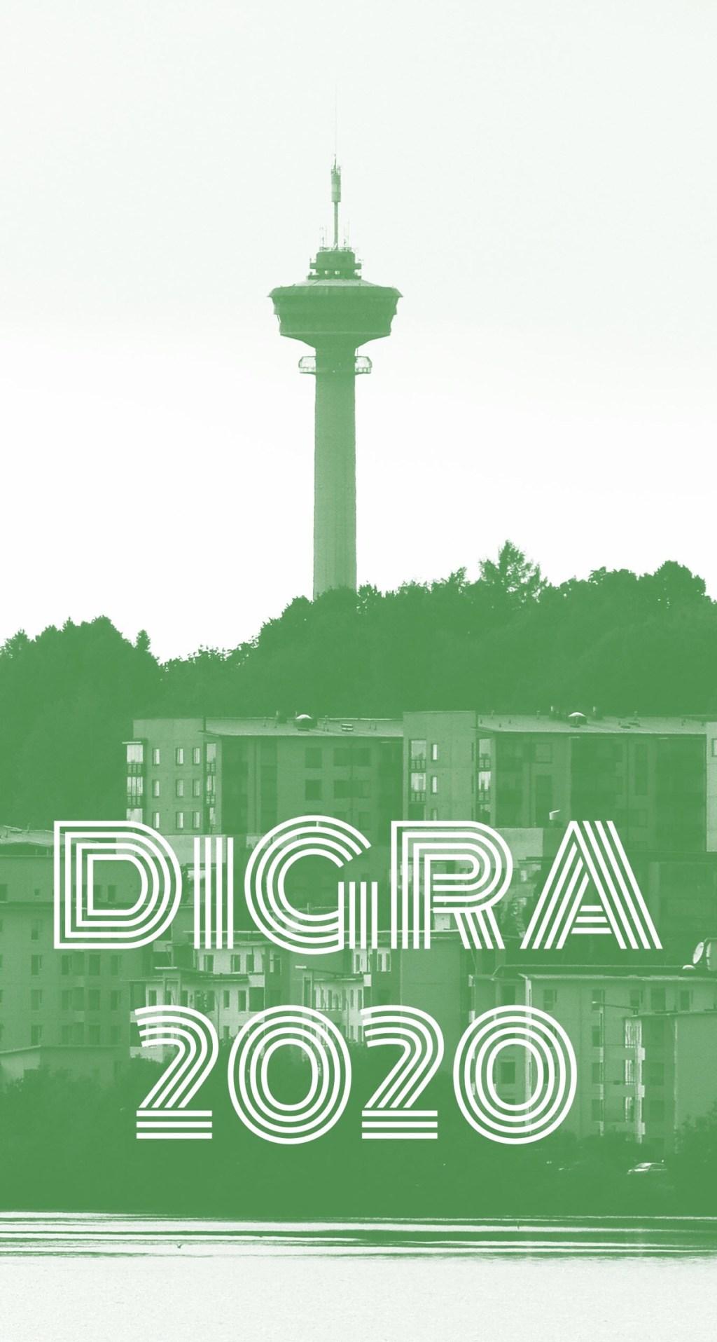 DiGRA 2020 logo