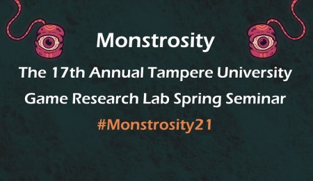 Monstrosity seminar information and hashtag
