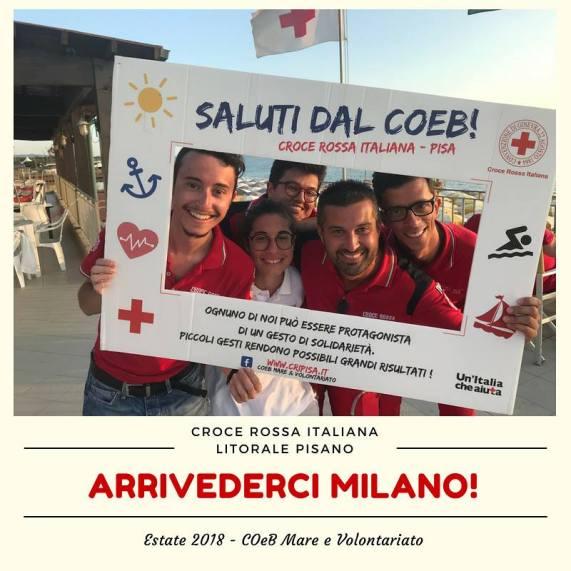 Mare e Volontariato CRI Milano