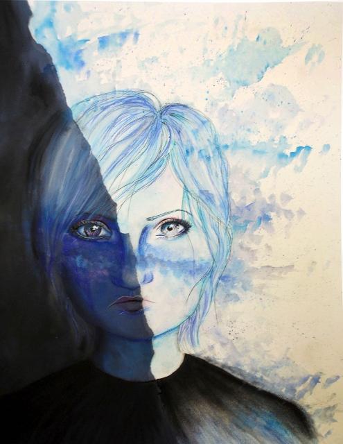 Torn by Hannah Eaton - Mixed Media