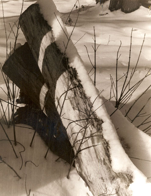 Marks the Spot by Rachel Grober - Sepia Toned B & W Photograph""