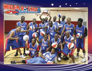 Members of the Harlem Rockets Comedy Basketball will be coming to Coe-Brown on Friday, November 18, 2016 to benefit CBNA Hoop.