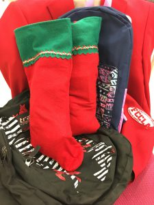 Items collected by CBNA FCCLA to help the community during this holiday season.