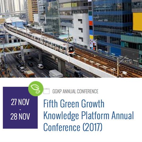 5th Green Growth Knowledge Platform Annual Conference