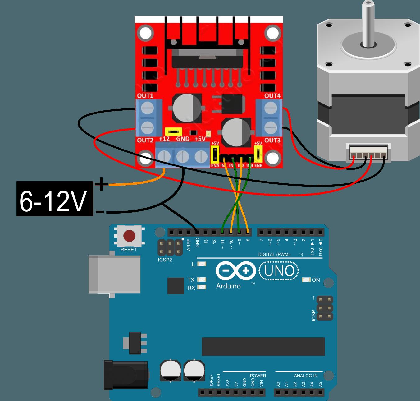 l298 h bridge circuit diagram globe theatre arduino 43 stepper l298n coeleveld