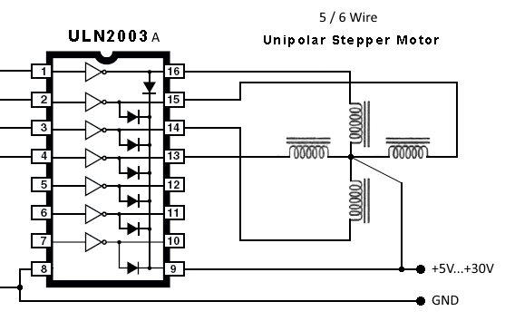 maximite stepper motor interface