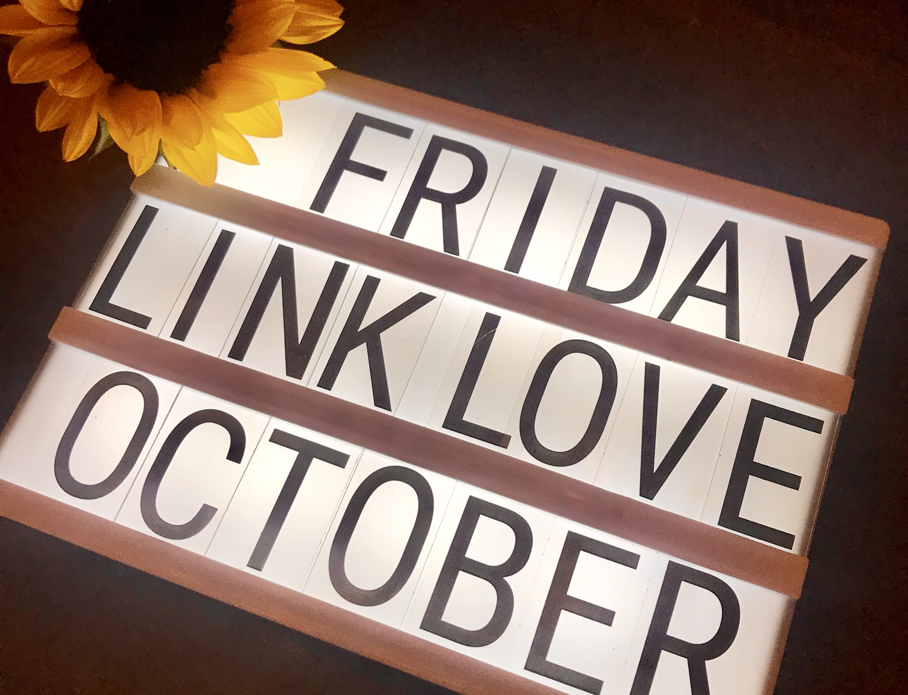 Friday Link Love October