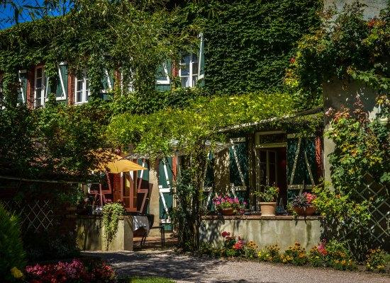 Le Cantou restaurant, et sa carte des vins sur iPad
