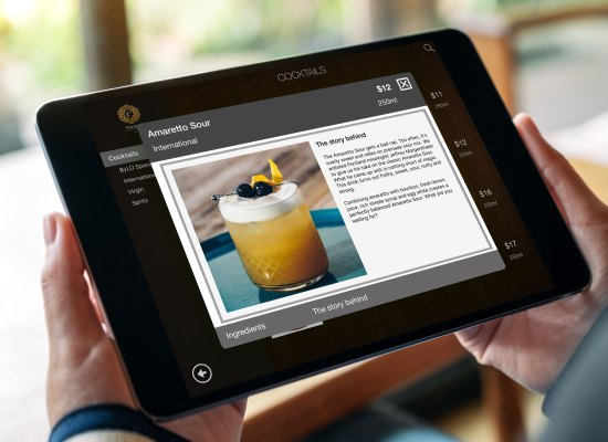 Cocktails iPad List
