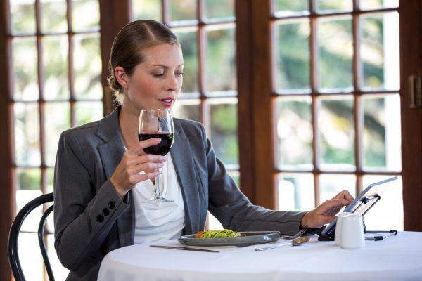 Wine List restaurant on iPad