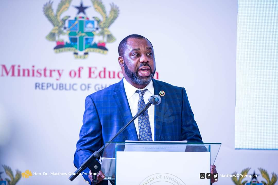 COLLEGES OF EDUCATION WEEKLY JOURNAL TO HOST DR. MATTHEW OPOKU PREMPEH, MINISTER FOR EDUCATION