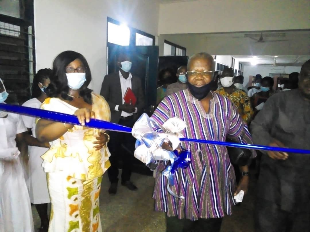 Dambai College of Education commissions New Hall and E-Library