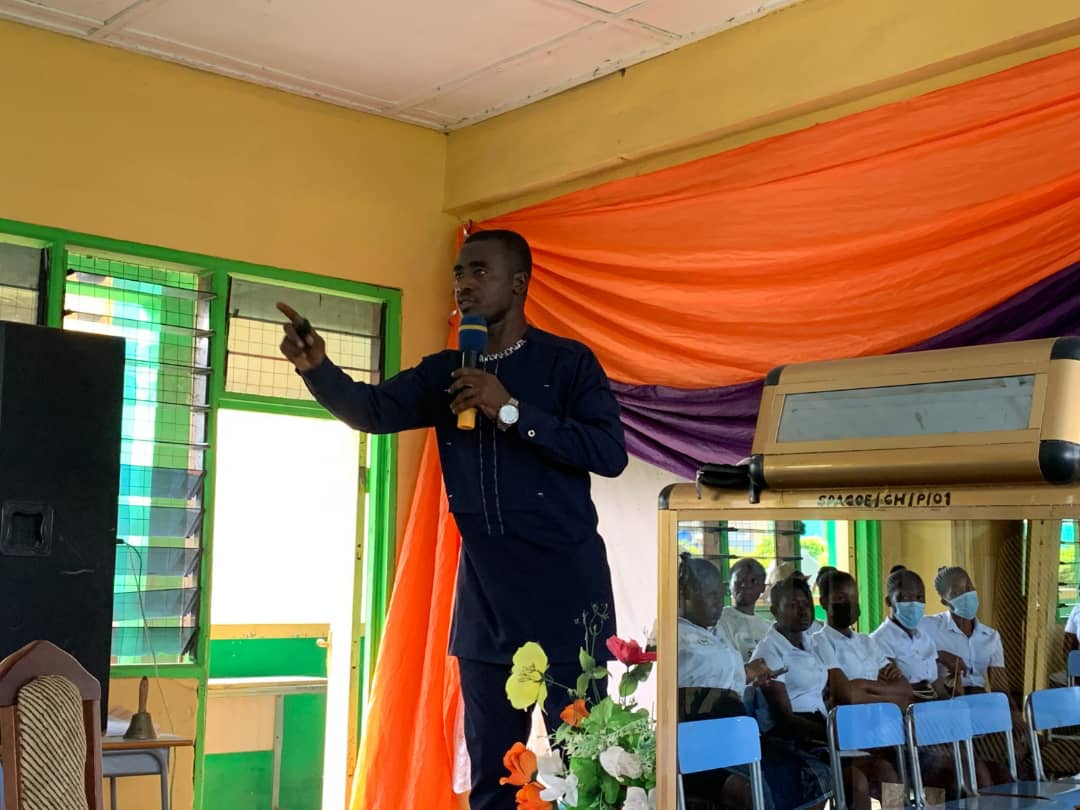Agona SDA College of Education holds Sabbath talk for its Students