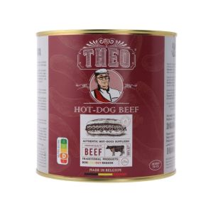 Theo hot dog beef 32 st