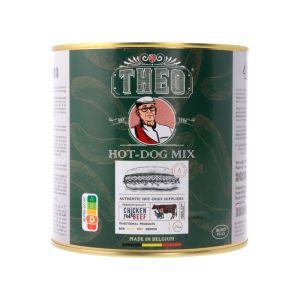 Theo hot dog mix 48 st