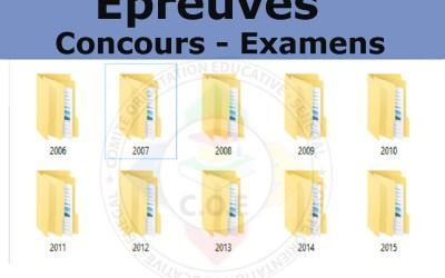 Épreuves Français- Concours Ecole Polytechnique de Thies