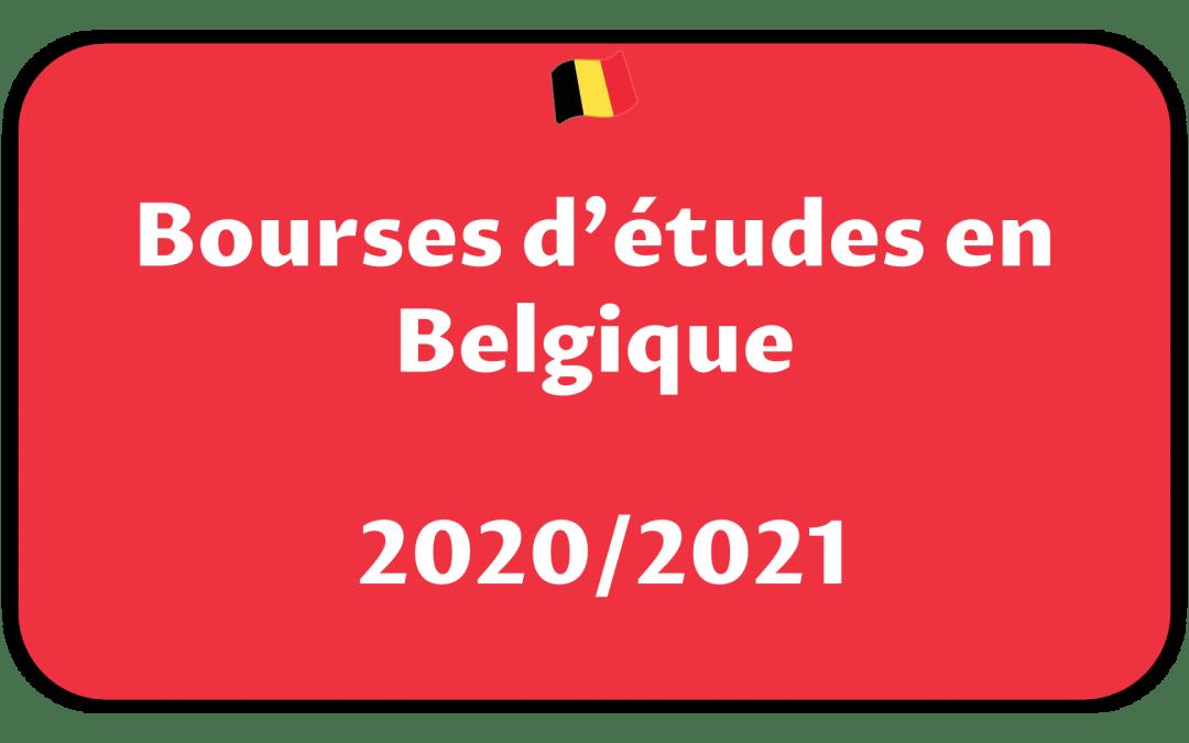 BOURSES EN BELGIQUE / 2020-2021