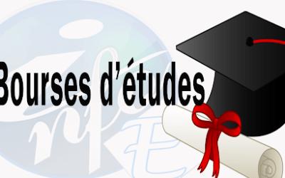 Les offres bourses d'études disponible du 14 Janvier 2021