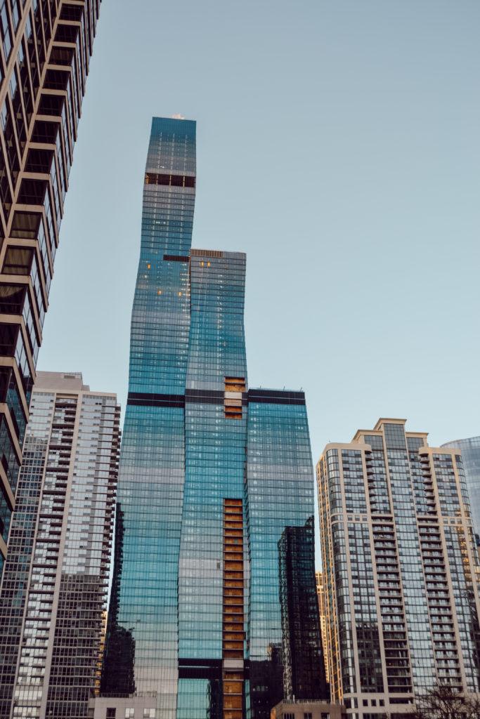 Les buildings gigantesques de Chicago