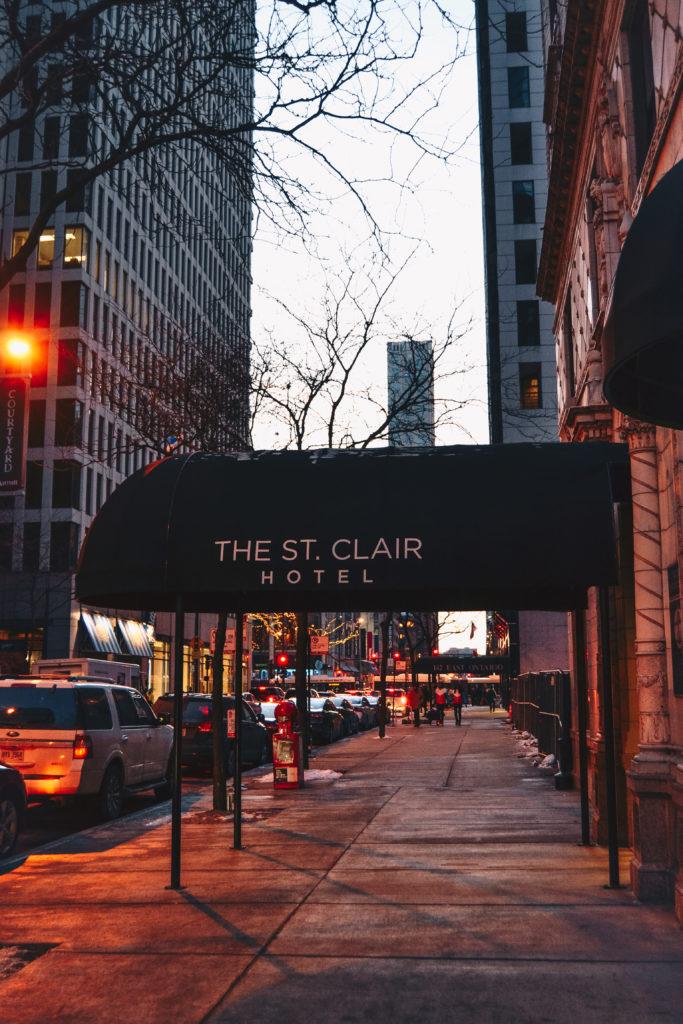 The St Clair Hotel à Chicago, un hôtel extrêmement bien situé, au centre de la ville