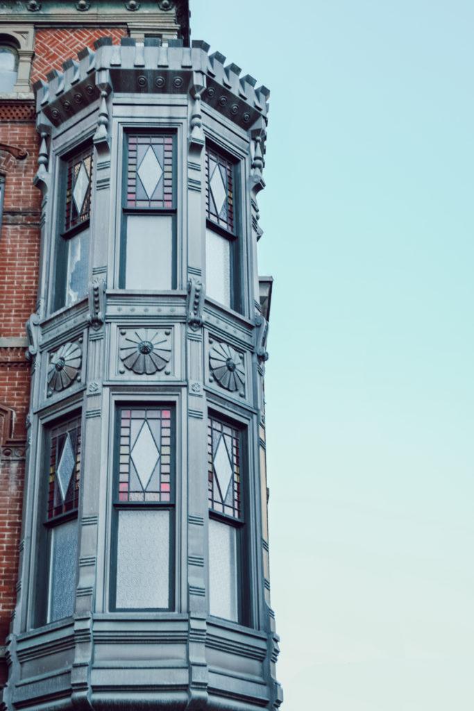 L'architecture de le quartier historique de Chicago - Old Town