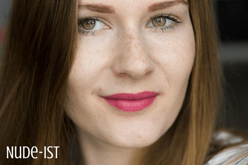 liquid Lipsticks - Bourjois Nude-ist - coeurdelisa