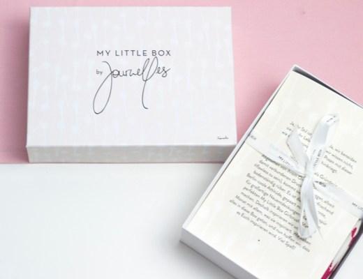 My Little Box August Journelles titel - coeurdelisa