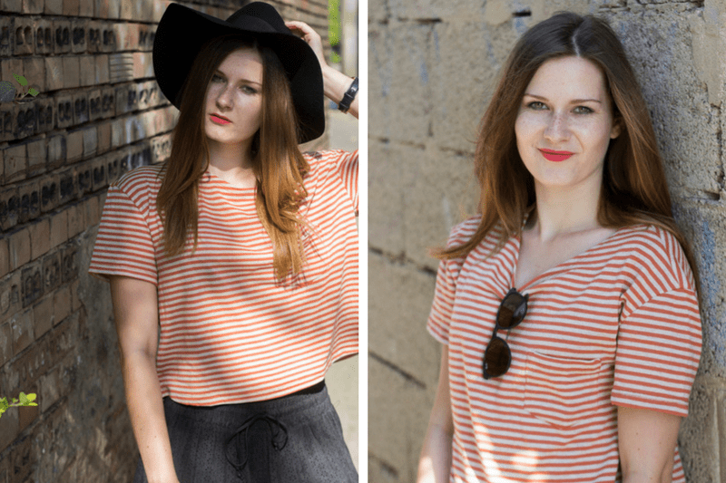 Outfit Orange for summer - coeurdelisa
